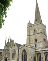 Oldest part of Burford Church dates to 1160AD