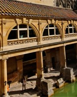 Roman Baths excavated in Victorian times