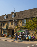 The wool town of Burford