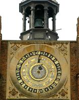 Wonderful 16th century astronomical clock